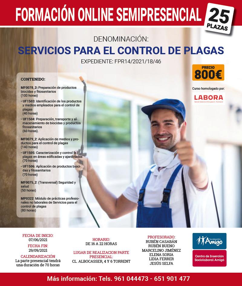 Curso online Control de Plagas